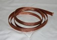 "Braided Copper Hose & Wire Sheathing 5ft, Expands up to 3/4"" ID"