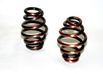 "Barrel Type 3"" Solo Seat Springs, Antique Copper finish, Pair"